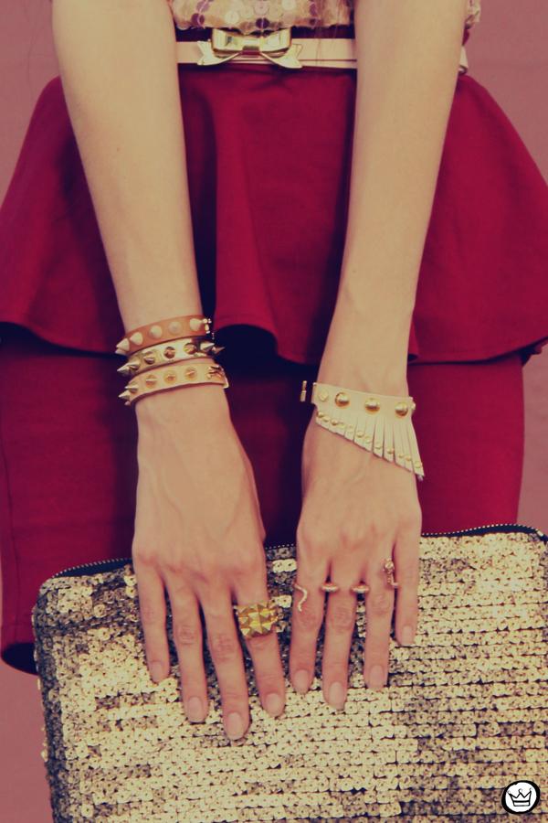 FashionCoolture - 09.12.2012 Peplum burgundy sequins Goodnight Macaroon Kafé Romwe rounded sunglasses girly (4)