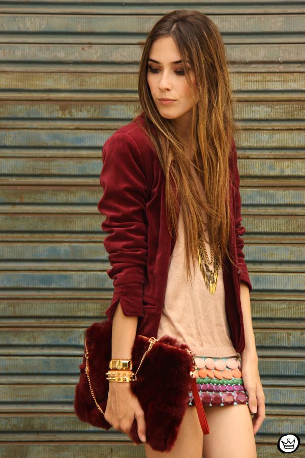 FashionCoolture 17.12.2012 Xiquita Bakana velvet Choies clutch fur clutch Kafé braceletes mix Asos  (7)