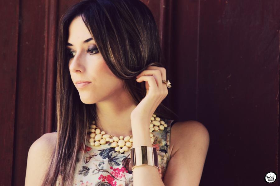 FashionCoolture 25.12.2012 Antix mullet dress pattern vestido floral Asos Kafé mix bracelets Rafaela Andrade (4)