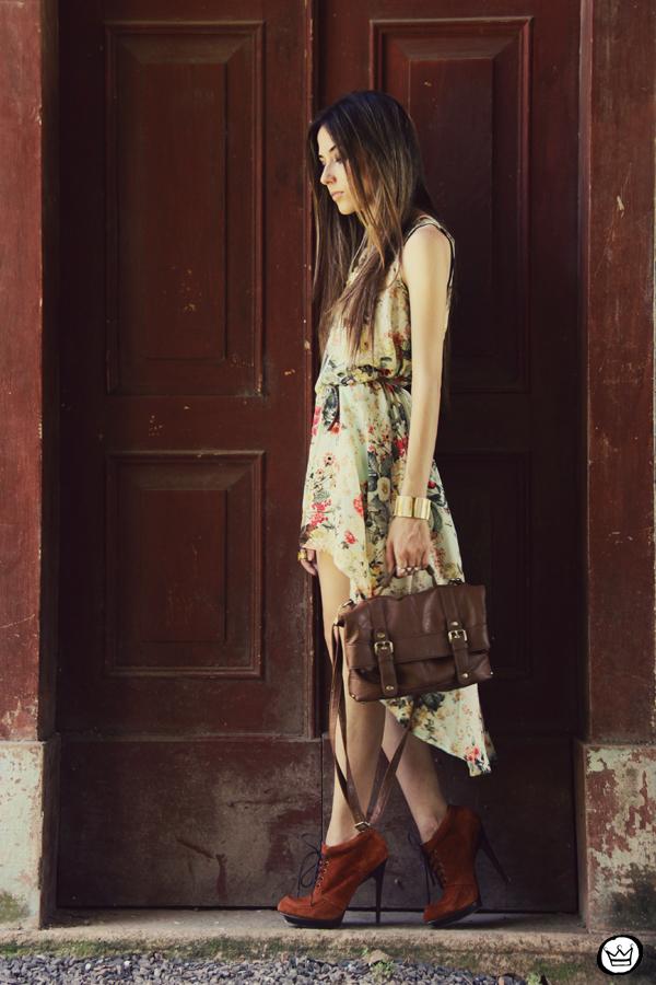 FashionCoolture 25.12.2012 Antix mullet dress pattern vestido floral Asos Kafé mix bracelets Rafaela Andrade (6)