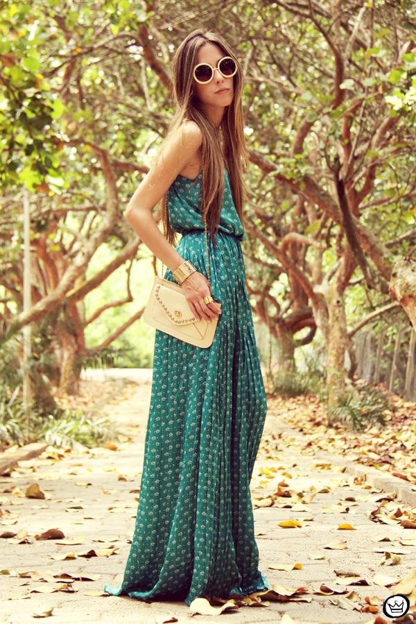 FashionCoolture 30.12.2012 dress Antix pattern green summer Kafé bracelets (3)