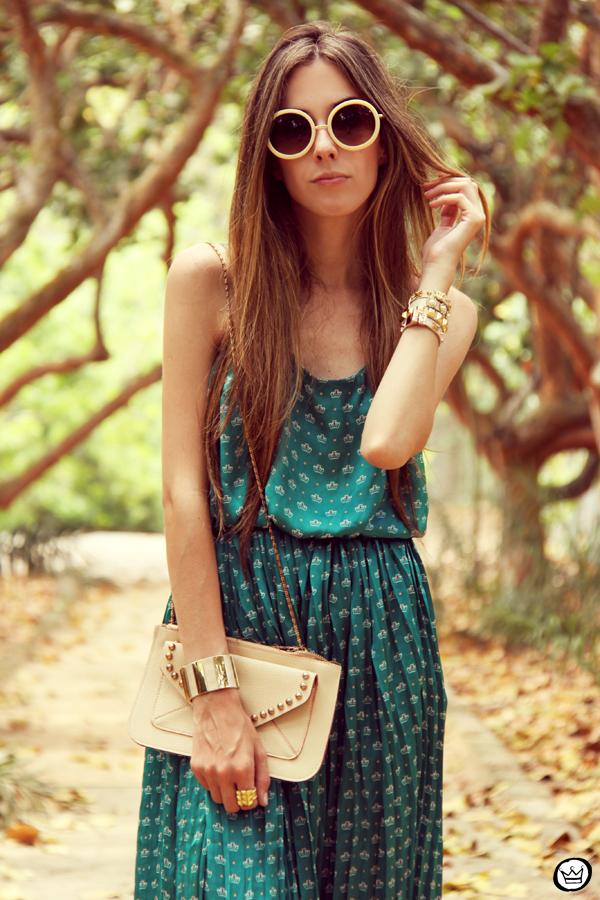FashionCoolture 30.12.2012 dress Antix pattern green summer Kafé bracelets (7)