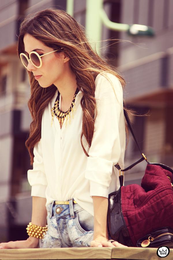 FashionCoolture Catarina a Porter Itapema Gabriela Faraco Bruna Starling Ziann short jeans camisa branca (11)