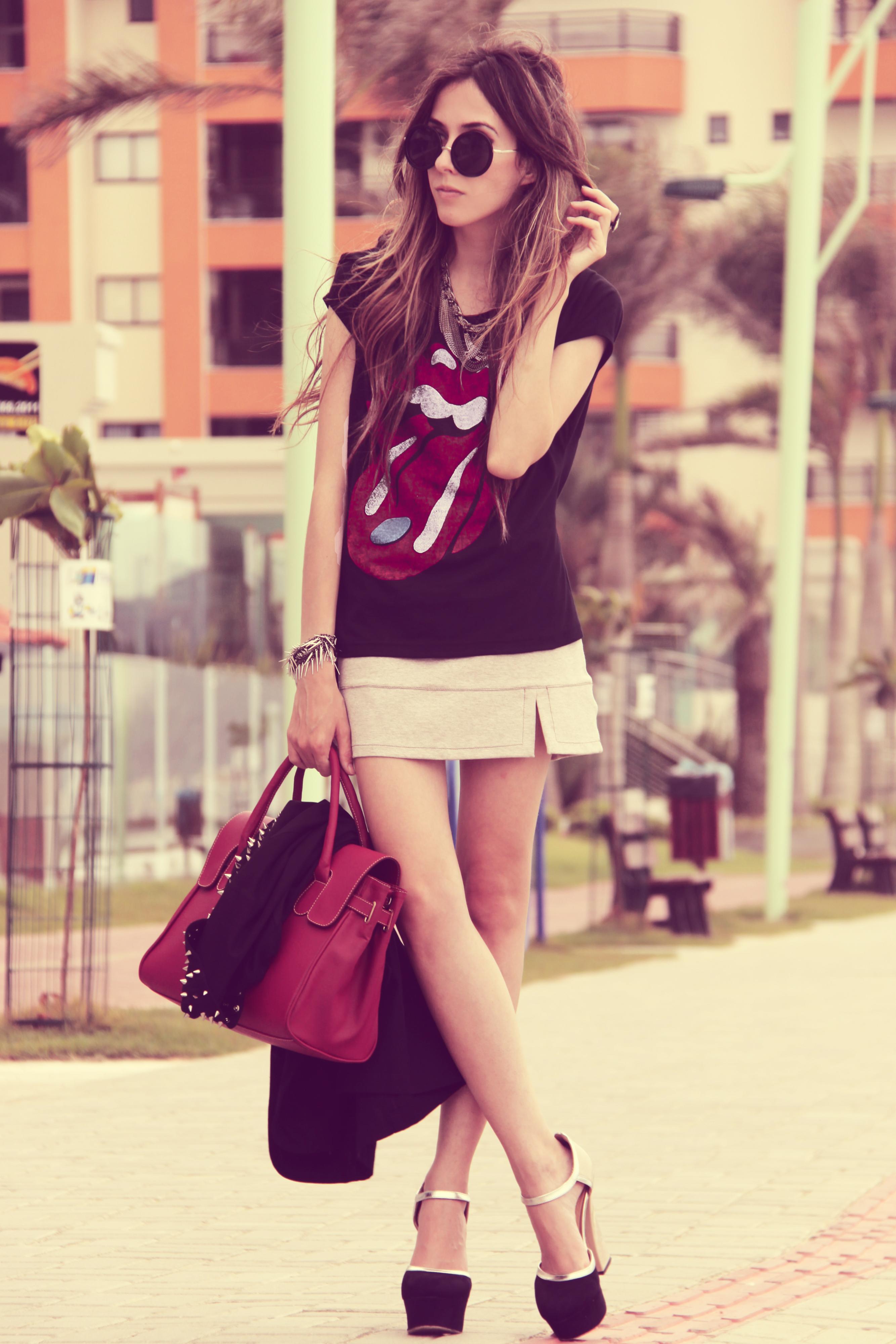 FashionCoolture Catarina a Porter Liverpool t-shirt Rolling Stones Cassia Mallman Juliana Silveira Yü (1)