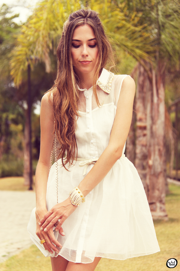 FashionCoolture 02.01.2013 Romwe cute dress white pearls Asos Kafé (2)