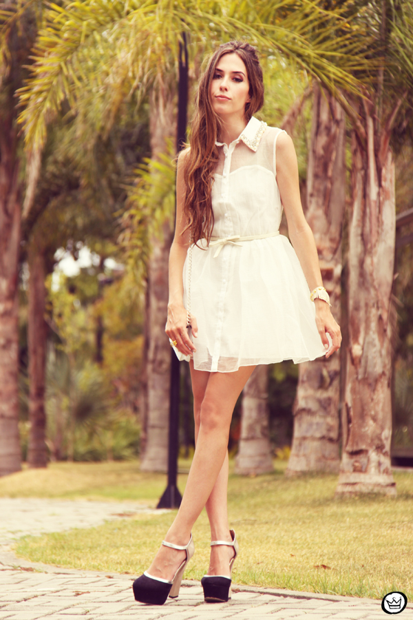 FashionCoolture 02.01.2013 Romwe cute dress white pearls Asos Kafé (4)