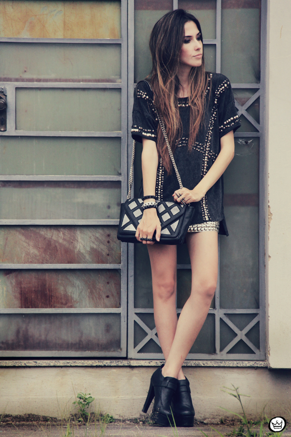 FashionCoolture 03.01.2012 Topshop Zara beaded síkes Kafé Asos black (2)