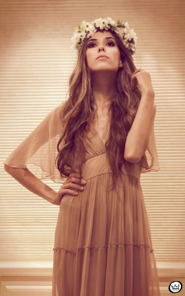 FashionCoolture - 26.01.2013 Romwe long dress vintage nude flowers (3)