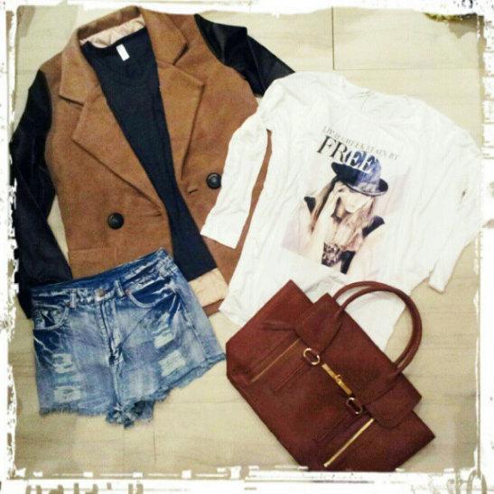 FashionCoolture - Instagram photos pieces clothes online stores Choies Chanel fake blazer (1)