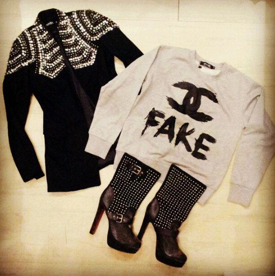FashionCoolture - Instagram photos pieces clothes online stores Choies Chanel fake blazer (2)