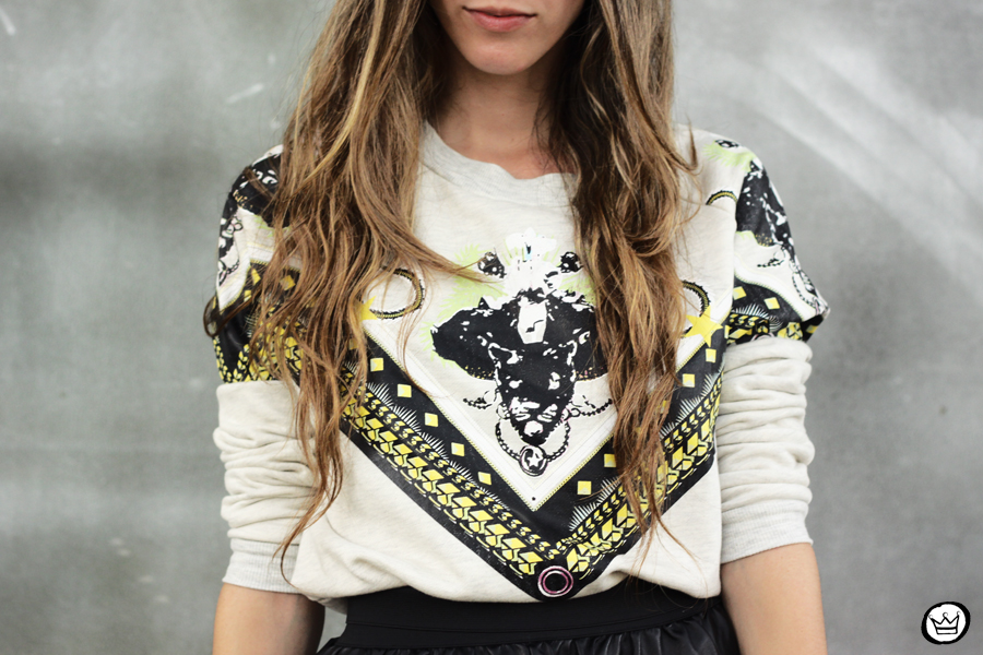 FashionCoolture - 03.02.2013 look du jour Awwdore jumper moletom hat Asos Romwe clutch (3)