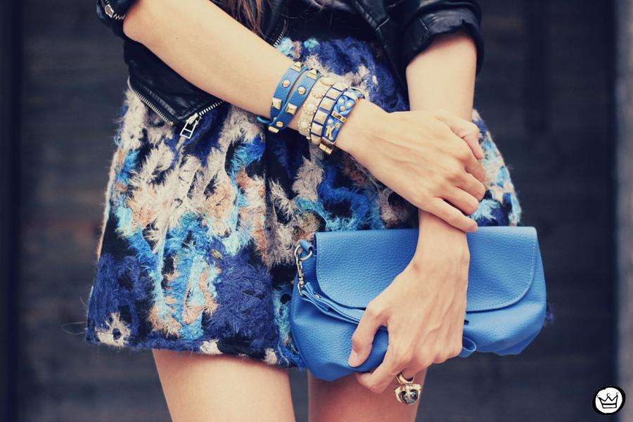 FashionCoolture - 06.12.2013 look du jour GrifeOn Romwe skirt blue jacket blogger Kafé (3)