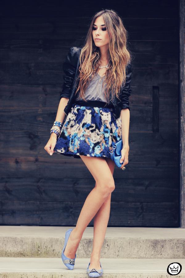 FashionCoolture - 06.12.2013 look du jour GrifeOn Romwe skirt blue jacket blogger Kafé (8)