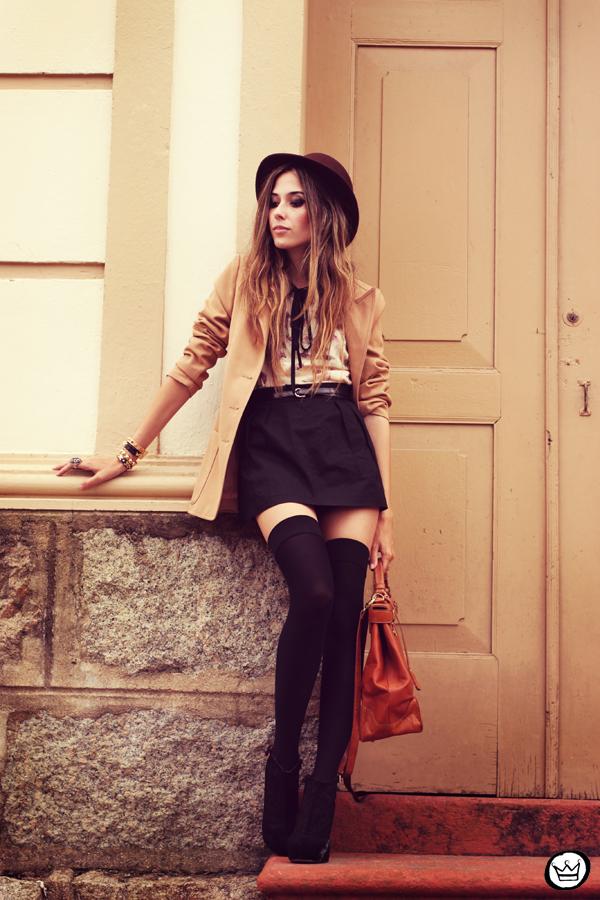FashionCoolture - 07.02.2013 look du jour Antix vintage blazer Asos Kafé (1)