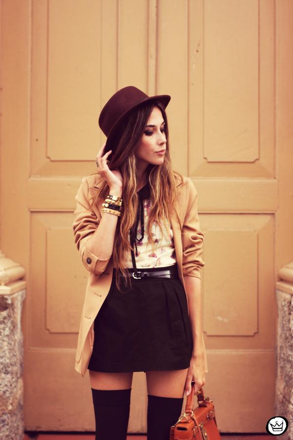 FashionCoolture - 07.02.2013 look du jour Antix vintage blazer Asos Kafé (2)