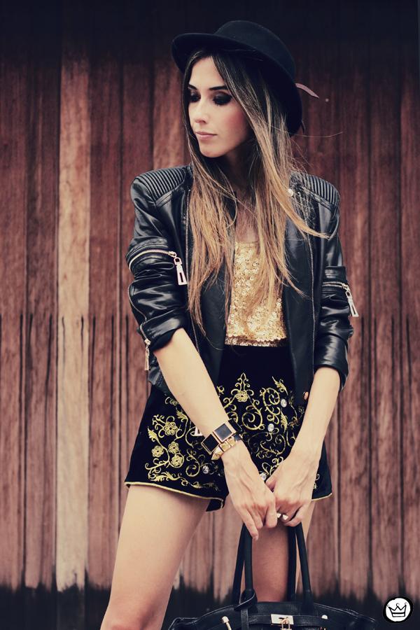 FashionCoolture - 15.02.2013 look du jour Romwe velvet baroque jacket sequins Asos (2)