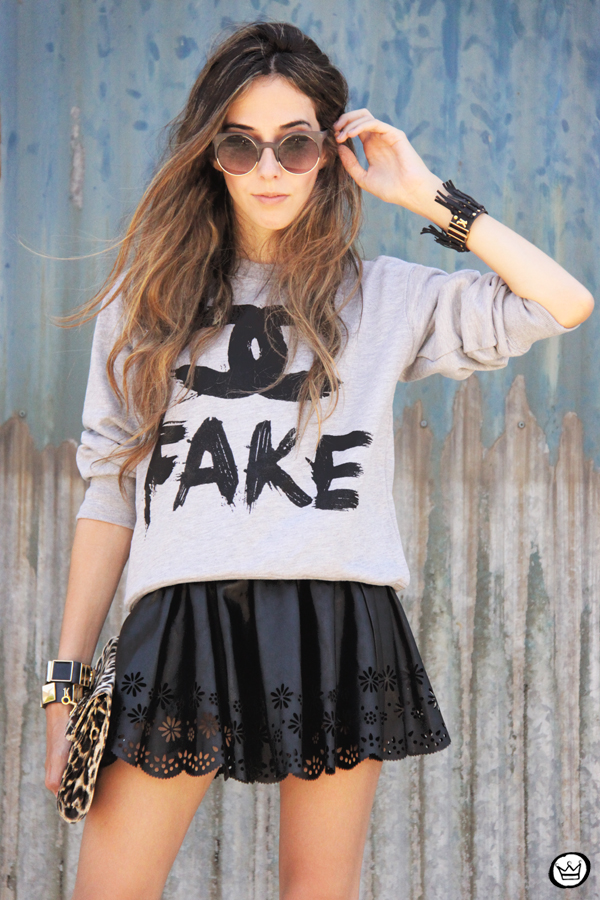 FashionCoolture - 24.02.2013 look du jour Choies Chanel jumper fake Asos studded (2)