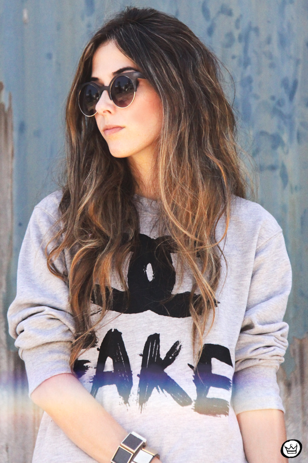 FashionCoolture - 24.02.2013 look du jour Choies Chanel jumper fake Asos studded (5)