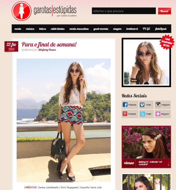 FashionCoolture - Garotas Estupidas