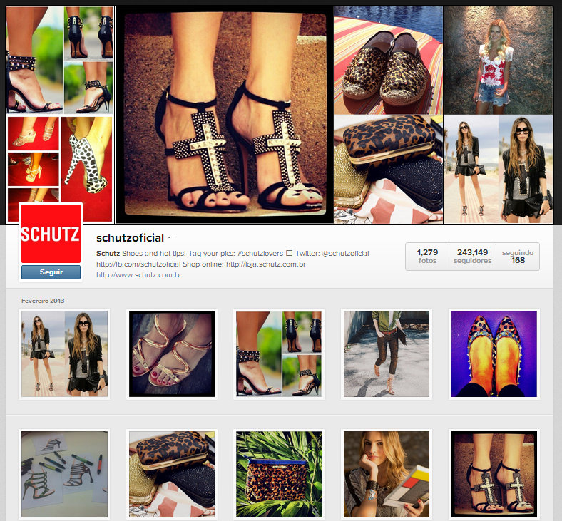 FashionCoolture - Shutz Instagram cross sandália
