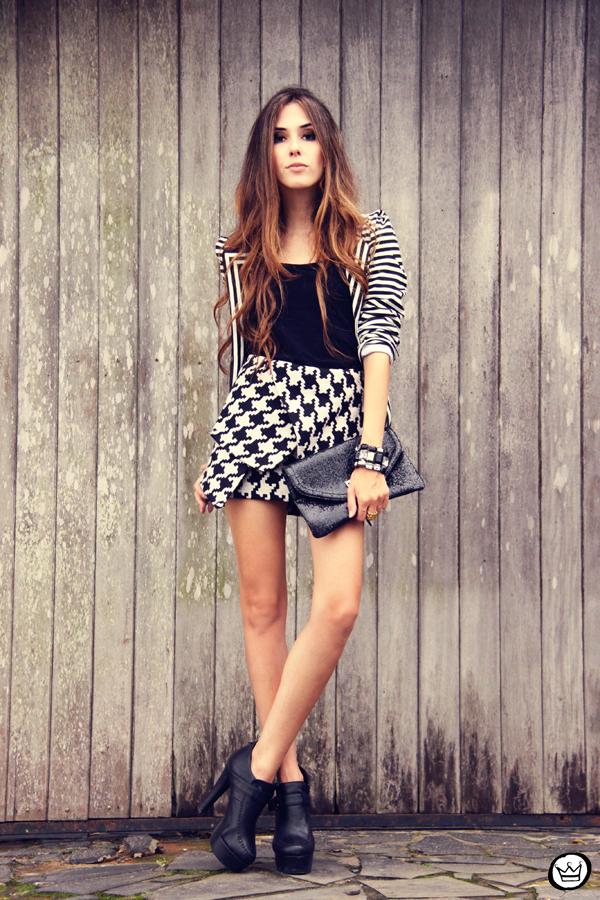 FashionCoolture 10.03.2013 look du jour choies preto e branco clutch Asos black&white (1)