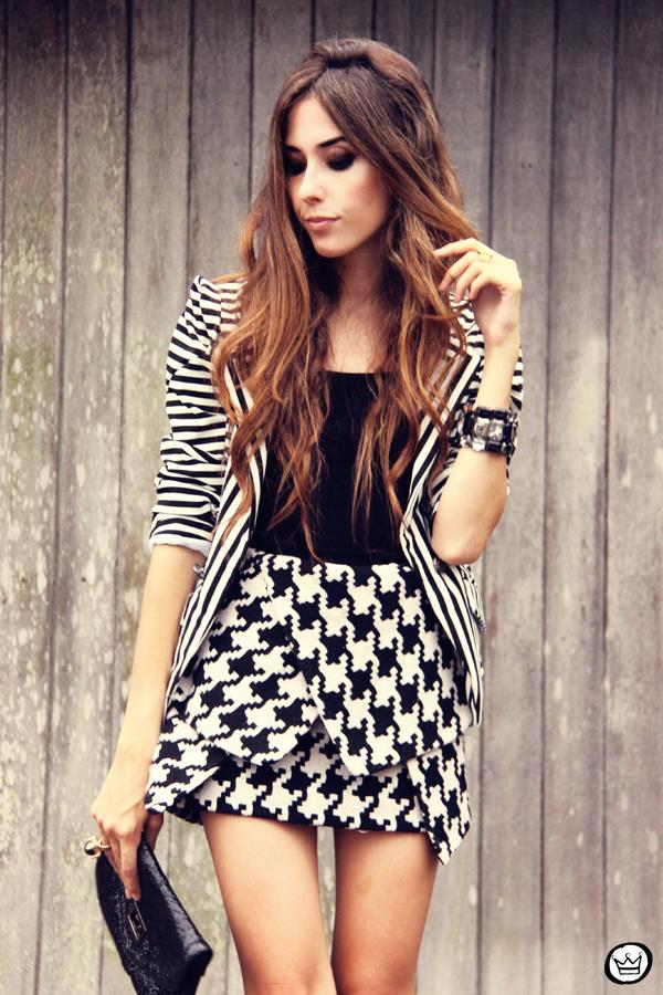 FashionCoolture 10.03.2013 look du jour choies preto e branco clutch Asos black&white (2)