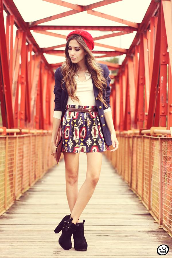 FashionCoolture - 21.03.2013 look du jour Awdore ethnic blazer asos  (1)
