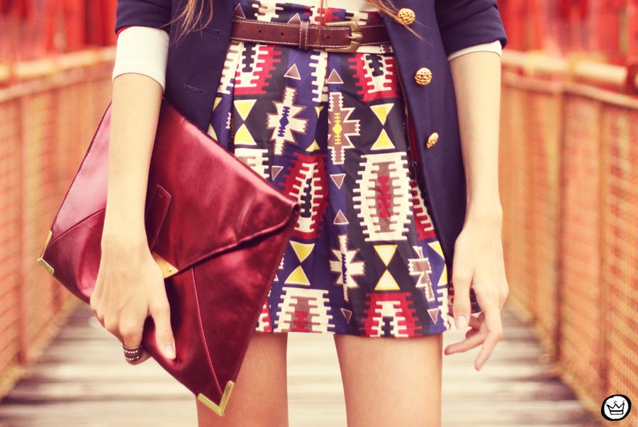 FashionCoolture - 21.03.2013 look du jour Awdore ethnic blazer asos  (3)