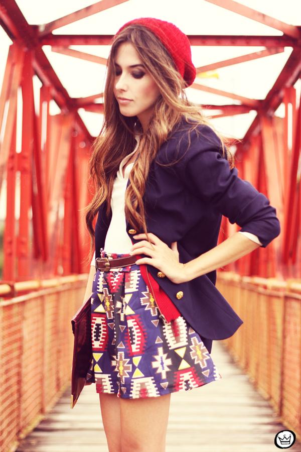 FashionCoolture - 21.03.2013 look du jour Awdore ethnic blazer asos  (5)