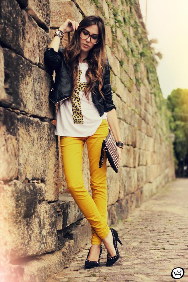 FashionCoolture - 22.03.2013 look du jour Amarena t-shirt asos romwe studded (7)