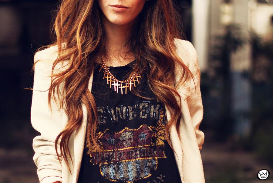 FashionCoolture - 26.03.2013 look du jour Charry leopard pants calça oncinha blazer t-shirt Asos Kafé (6)