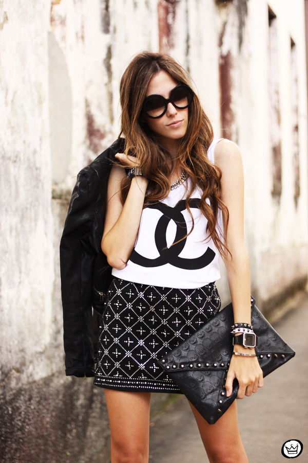 FashionCoolture - 29.03 Choies beaded lita SheINside jacket t-shirt spikes chanel (2)