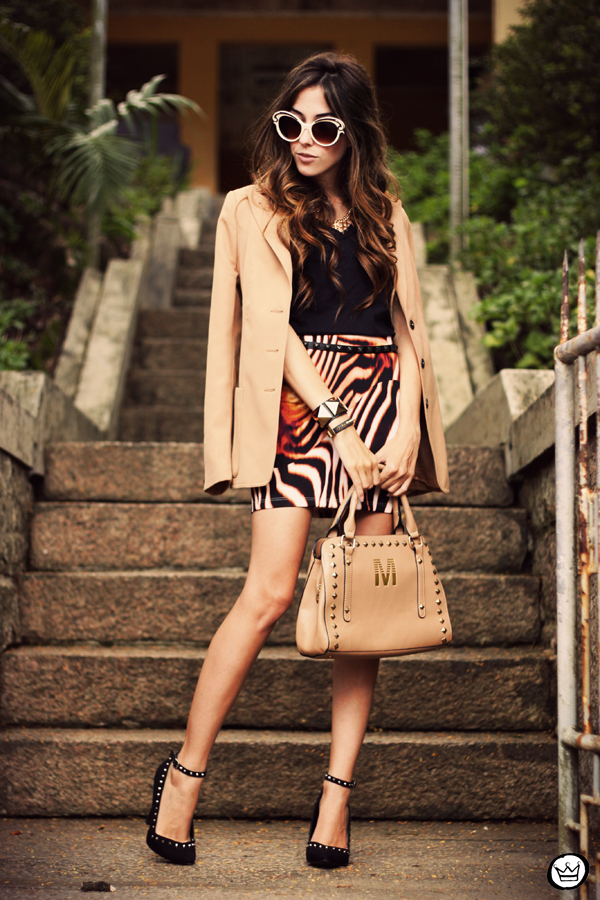FashionCoolture - 30.03 Displicent blazer vintage skirt Romwe Asos (4)