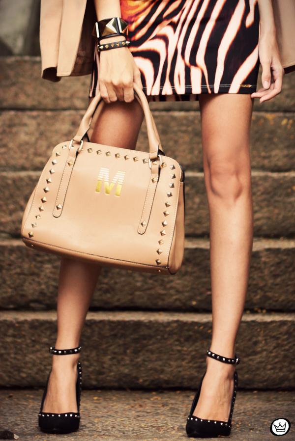 FashionCoolture - 30.03 Displicent blazer vintage skirt Romwe Asos (5)