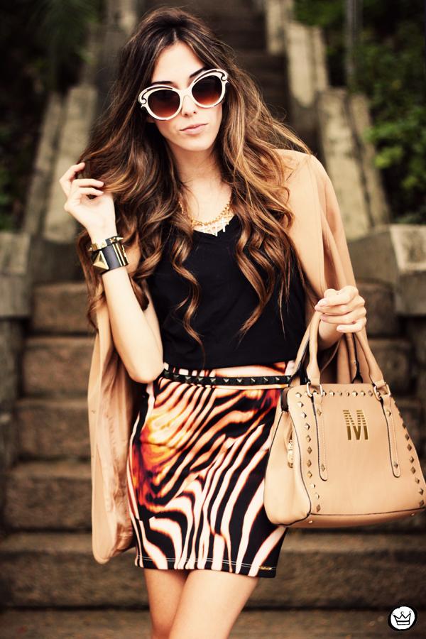 FashionCoolture - 30.03 Displicent blazer vintage skirt Romwe Asos (6)