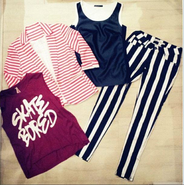 FashionCoolture Instagram pieces renner marisa calça listrada (2)