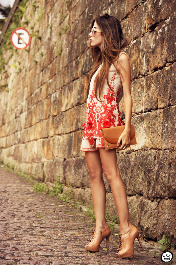 FashionCoolture - 07.04.2013 look du jour Choies red dress lace chic  (4)
