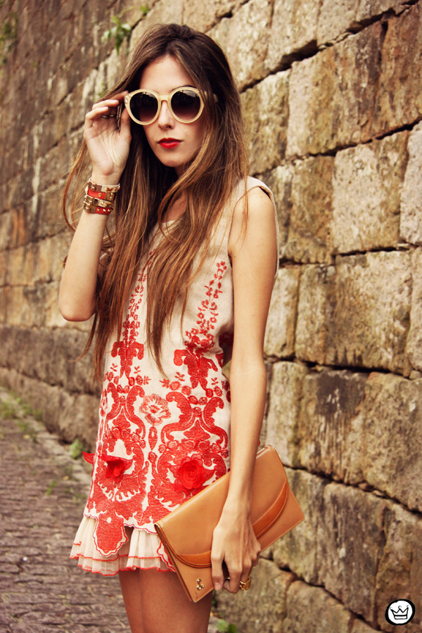 FashionCoolture - 07.04.2013 look du jour Choies red dress lace chic  (5)