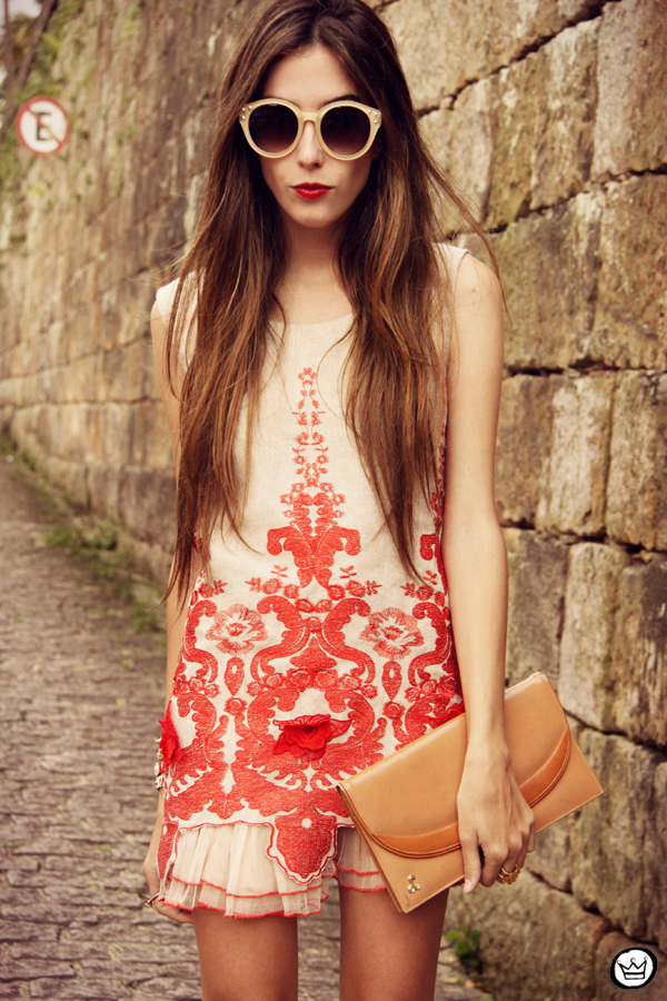 FashionCoolture - 07.04.2013 look du jour Choies red dress lace chic  (8)