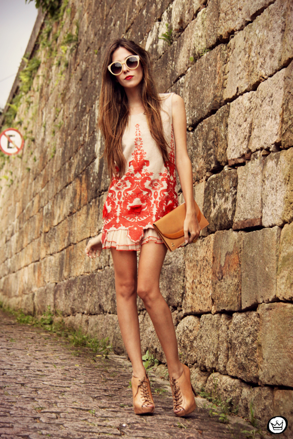FashionCoolture - 07.04.2013 look du jour Choies red dress lace chic  (9)
