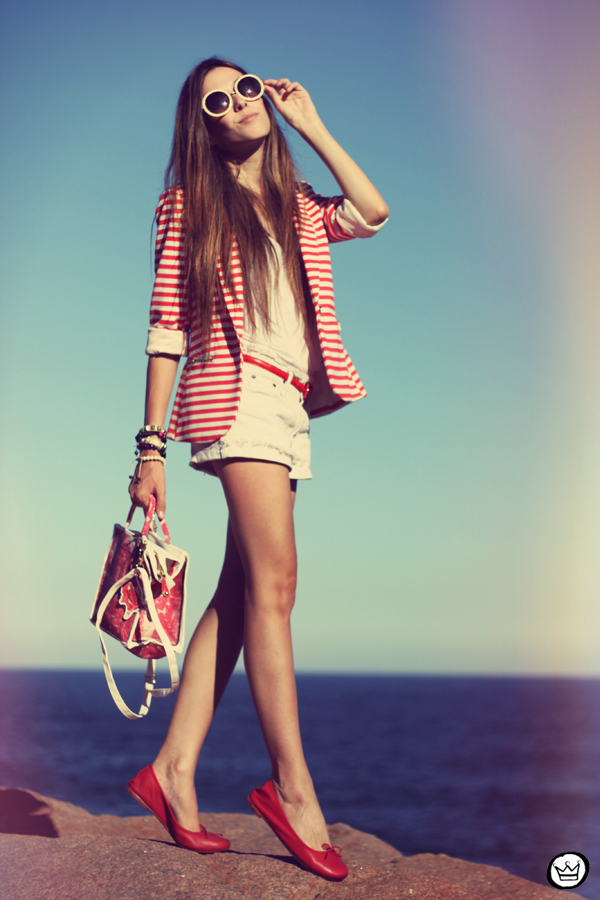 FashionCoolture - 07.04.2013 look du jour Renner summer listras blazer sapatilha (1)