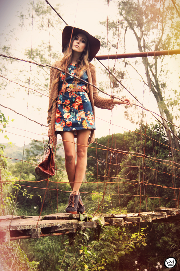 FashionCoolture - 09.04.2013 look du jour Antix dress floral winter coleção estampa Asos  (4)