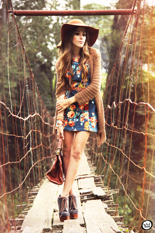 FashionCoolture - 09.04.2013 look du jour Antix dress floral winter coleção estampa Asos  (7)