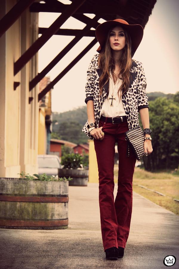 FashionCoolture - 13.04.2013 look du jour Charry blazer leopard calça Marisa Asos (4)