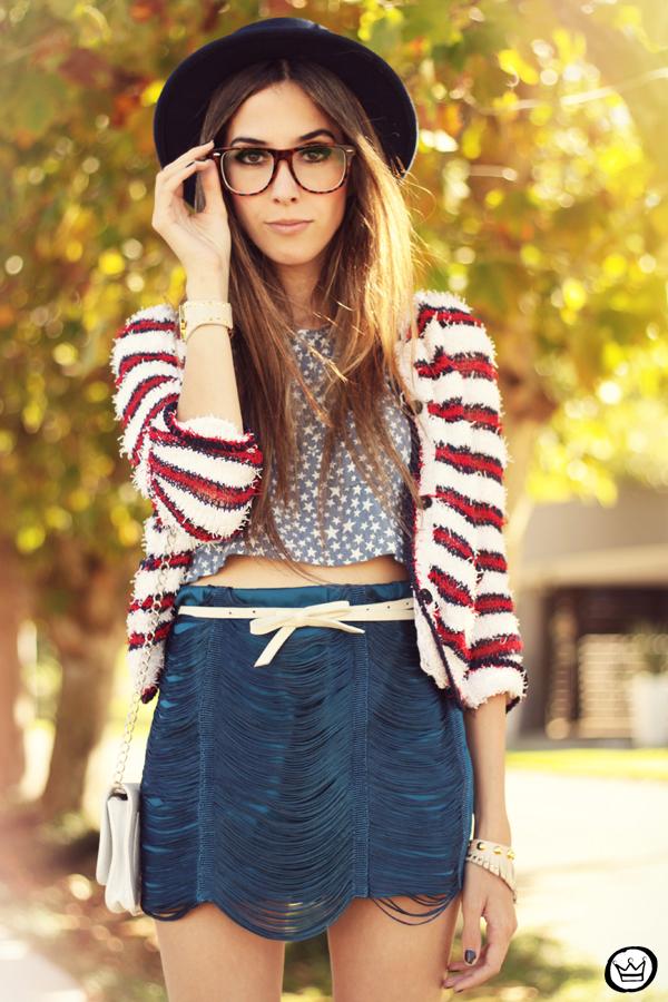 FashionCoolture - 20.04.2013 look du jour Morena Raiz stripes stars Ufo Asos (3)