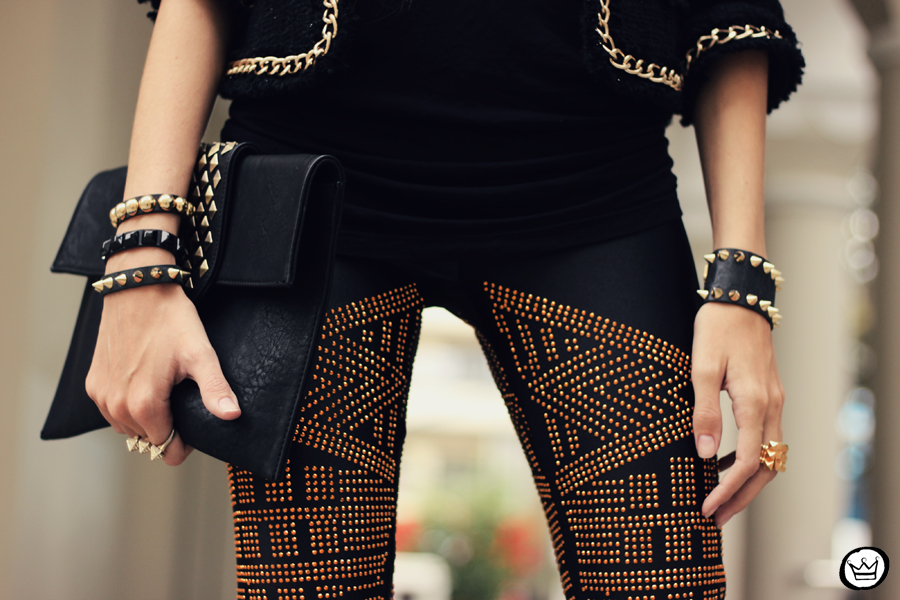 FashionCoolture - 02.05.2013 look du jour legging Labellamafia black (3)