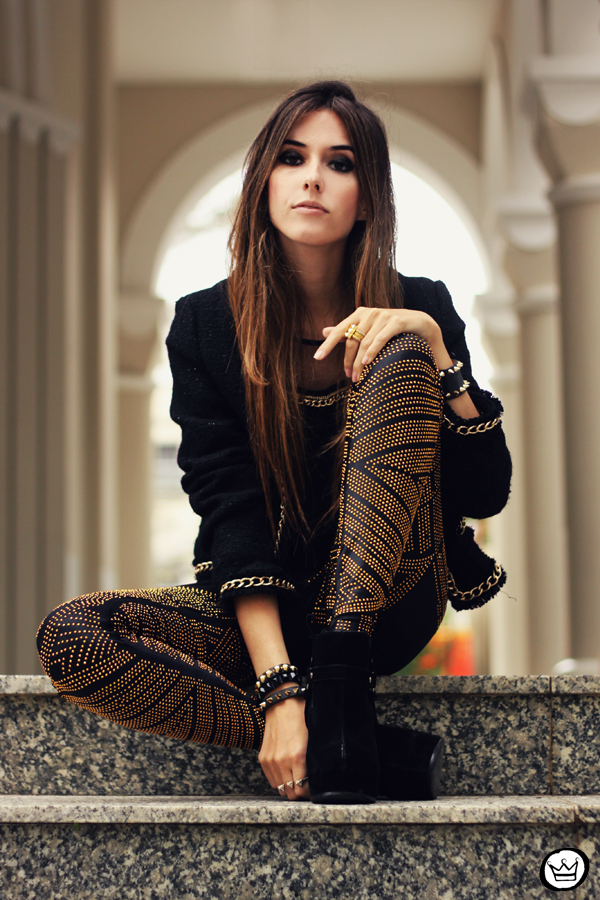 FashionCoolture - 02.05.2013 look du jour legging Labellamafia black (5)