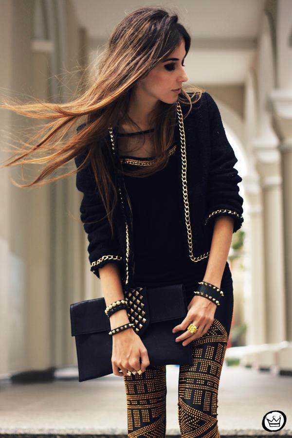 FashionCoolture - 02.05.2013 look du jour legging Labellamafia black (6)