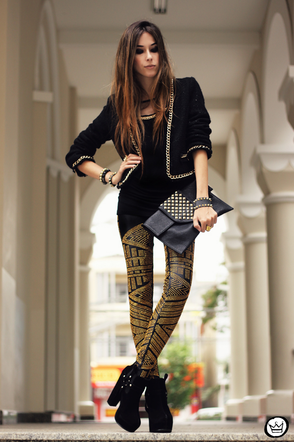 FashionCoolture - 02.05.2013 look du jour legging Labellamafia black (7)