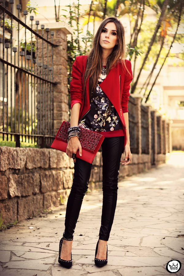 FashionCoolture - 03.05.2013 look du jour Damyller legging Asos jumper red (7)